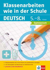 Klassenarbeiten wie in der Schule Deutsch