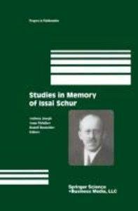 Studies in Memory of Issai Schur