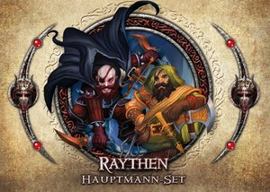 Asmodee FFGD1314 - Descent 2. Edition: Raythen Hauptmann-Set, Er