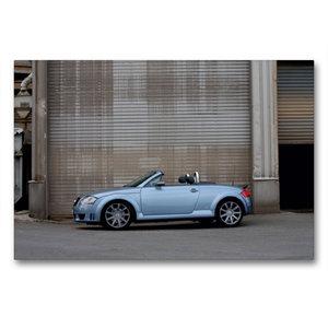 Premium Textil-Leinwand 90 cm x 60 cm quer TT 8N Roadster