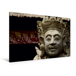 Premium Textil-Leinwand 120 cm x 80 cm quer Gottheit auf Bali