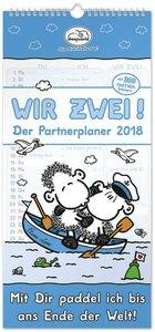 Wir Zwei! Der Partnerplaner 2018