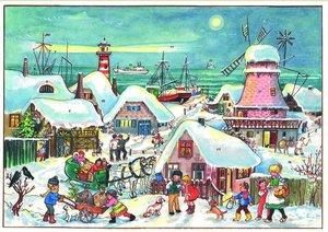 """Adventskalender \""""Weihnachten im hohen Norden\"""""""