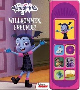 Vampirina- Disney - Willkommen Freunde -Soundbuch - Pappbilderbu