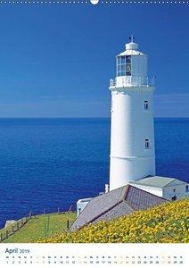 Leuchtturm: Lichtblick an der Küste (Wandkalender 2019 DIN A2 ho