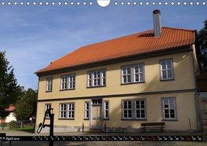 Kleine Perle - Bach-Stammort Wechmar (Wandkalender 2019 DIN A4 q