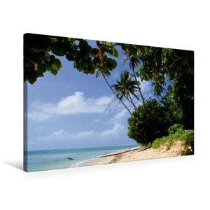 Premium Textil-Leinwand 75 cm x 50 cm quer Lavena auf Taveuni, F
