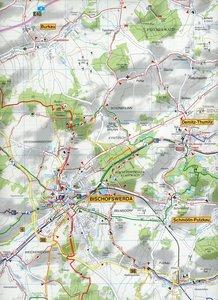 Bischofswerda, Pulsnitz, Stolpen und Umgebung 1 : 35 000
