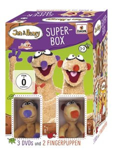 Jan & Henry - 3er DVD-Box mit Fingerpuppen