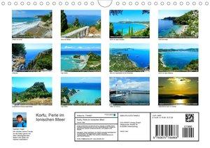 Korfu, Perle im Ionischen Meer (Wandkalender 2020 DIN A4 quer)