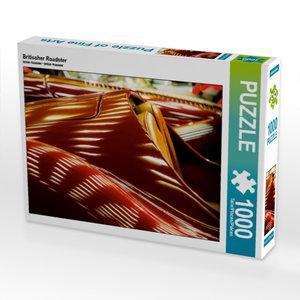 Britischer Roadster 1000 Teile Puzzle quer