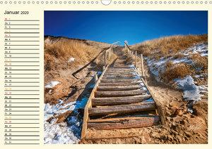 Dünen an der Nordsee - Geburtstagskalender (Wandkalender 2020 DI