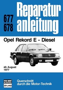Opel Rekord E - Diesel