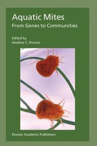 Aquatic Mites from Genes to Communities