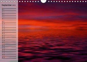Rot. Lebenskraft, Leidenschaft und Wille (Wandkalender 2019 DIN