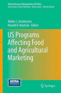 US Programs Affecting Food and Agricultural Marketing