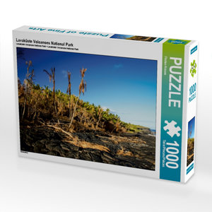Lavaküste Volcanoes National Park 1000 Teile Puzzle quer