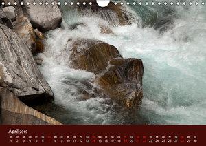 Bergwasser (Wandkalender 2019 DIN A4 quer)