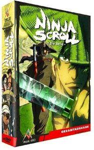 Ninja Scroll, Gesamtausgabe, 4 DVDs (Slimpackbox)