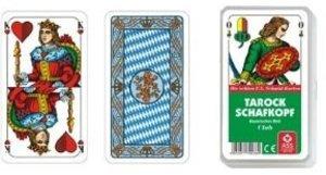 Philos 6687 - Tarock / Schafkopf bayerisches Bild, Kunstsoffetui