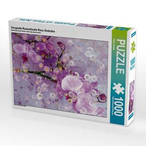 CALVENDO Puzzle Verspielte Romantische Rosa Orchidee 1000 Teile