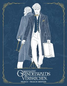Phantastische Tierwesen: Grindelwalds Verbrechen (Malbuch - Magi