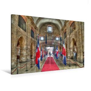 Premium Textil-Leinwand 120 cm x 80 cm quer Panteon Nacional * N