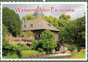 Wassermühlen Panorama Niederrhein Brüggen-Wegberg