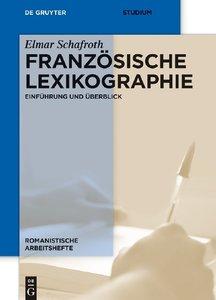 Französische Lexikographie