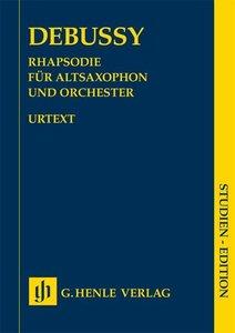 Rhapsodie für Altsaxophon und Orchester