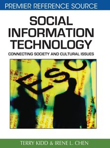 Social Information Technology: Connecting Society and Cultural I