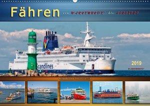 Fähren - von Warnemünde bis Hongkong (Wandkalender 2019 DIN A2 q