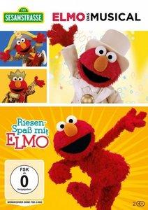 Sesamstrasse: Elmo - Das Musical & Riesenspaß mit Elmo, 2 DVD