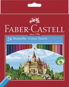 Buntstift Castle hexagonal 24er