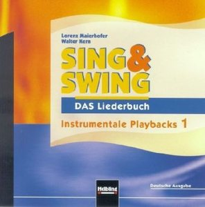 Instrumentale Playbacks 1, 1 Audio-CD