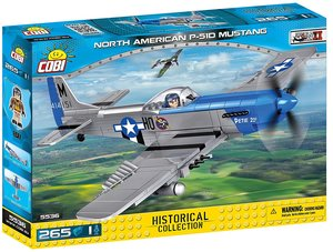 Cobi 5536 - Historical Collection, North American P-51D Mustang,