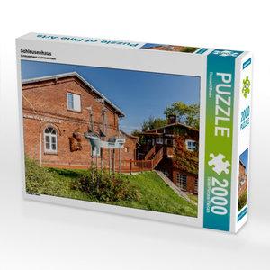 Schleusenhaus 2000 Teile Puzzle quer