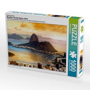 Ein Motiv aus dem Kalender Brasilien. Wo die Sonne wohnt 1000 Te