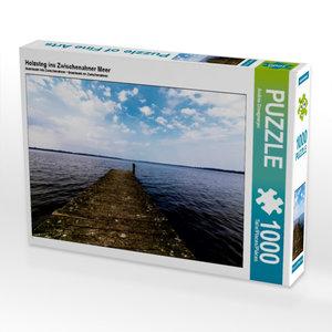 Holzsteg ins Zwischenahner Meer 1000 Teile Puzzle quer
