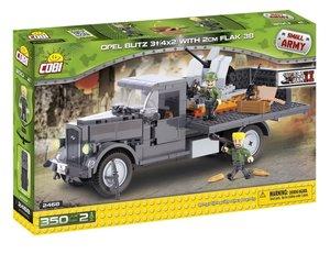COBI 2468 - Opel Blitz 3T 4x2 mit 2 cm FLAK 38, Small Army, grau