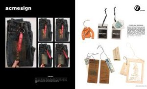 Fashion Hangtag Design