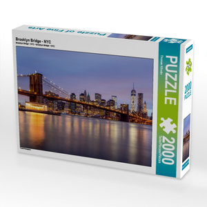 Brooklyn Bridge - NYC 2000 Teile Puzzle quer
