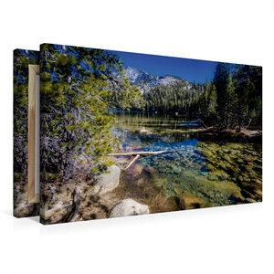 Premium Textil-Leinwand 75 cm x 50 cm quer Tenaya Lake, Yosemite