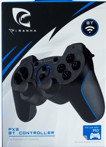 PIRANHA PX3 BT CONTROLLER für PS3, Bluetooth Controller
