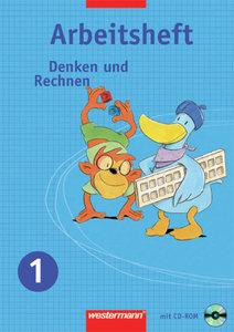 Denken und Rechnen 1. Arbeitsheft mit CD-ROM. Hessen, Rheinland-