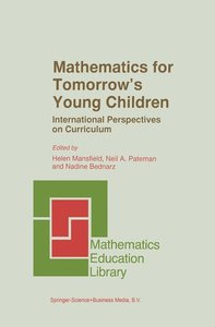 Mathematics for Tomorrow's Young Children