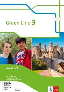 Green Line 3. Ausgabe Bayern, mit 1 CD-ROM, mit 1 Audio