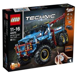 LEGO® Technic 42070 - Allrad-Abschleppwagen, 6x6 All Terrain Tow