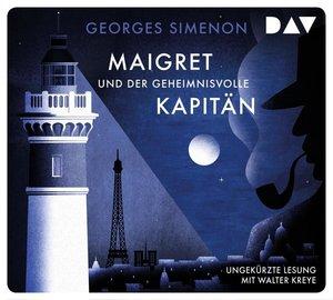 Maigret und der geheimnisvolle Kapitän, 4 Audio-CD