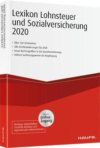 Lexikon Lohnsteuer und Sozialversicherung 2020 plus Onlinezugang